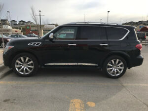 2013 Infiniti QX56 SUV, Technology Package