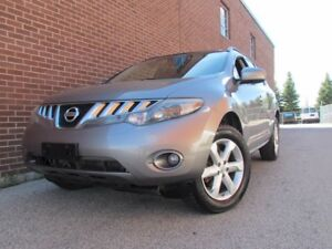 2009 Nissan Murano SL,AWD,Rear Camera,Pano Sunroof,Alloy