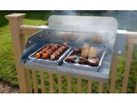 Hook and Cook BBQ Balcony stand