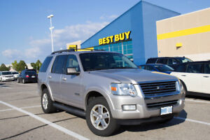 2008 Ford Explorer XLT SUV / 4x4 / 7 Pass / 4.0L V6 / Low km