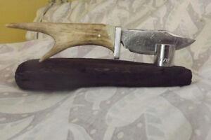 railway spike knife