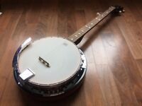 Rocket Music 5 String Banjo Barely Used