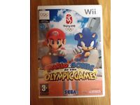 MARIO AND SONIC OLYMPIC WII GAME