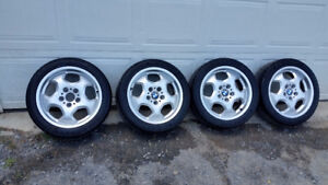 """BMW 17"""" M3 Contour wheels and tires"""