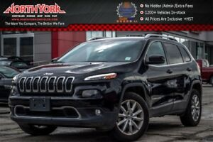 2016 Jeep Cherokee Limited|4x4|Nav|BackupCam|HeatedFrSeats|Leath