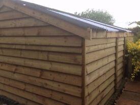 Car port ,field shelter,garage,out door storage,stables,garden buildings