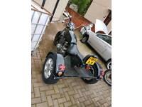 Trike motorbike