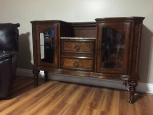 Beautiful red maple cabinet