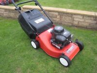 Lawn King Petrol Lawn Mower With Fully Serviced Briggs 3.5hp Classic Engine 41cm Cutting Width