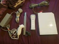 Nintendo Wii with balance board and zumba