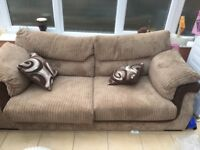Sofas for sale - sparingly used, collection only
