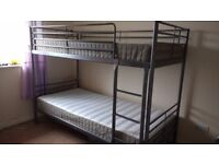 Ikea bunk bed excellent condition.