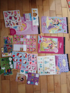 Hunders of stickers -- Princesses and etc.