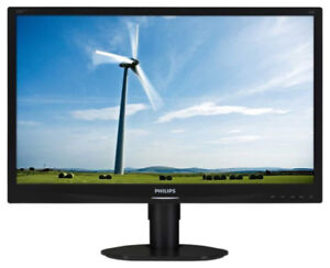 "Moniteur aux d.e.l. - Philips 22"" - l.e.d. monitor"