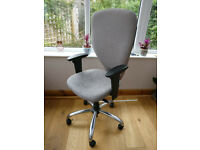 Office chair. Fully adjustable quality office chair on wheels.