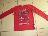 Boys Red Top