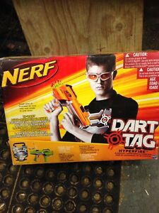 Nerf Dart Tag Hyperfire Blaster Set - Brand new sealed in box
