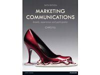 MARKETING COMMUNICATIONS (CHRIS FILL) 6th edition