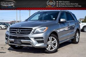 2014 Mercedes-Benz M-Class ML350 BlueTEC|4WD|Navi|Pano Sunroof|B