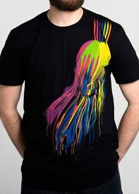 Squiffy Painted Lady t-shirts