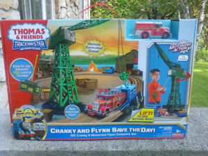 Thomas the Train: Cranky and Flynn Save the Day Fisher Price