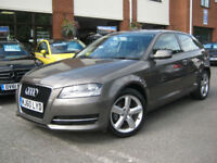 2010 60-Reg Audi A3 1.6 Technik,RARE DAKOTA GREY,GEN 34,000 MILES!! LOOK!!!!!