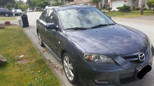 2008 Mazda3 GT Fully Loaded