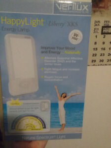 Happy light. Improves mood and energy!