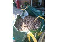Small gravel for garden or paviment - Single bag