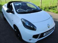 2011 RENAULT WIND ROADSTER GT LINE VVT WHITE AND BLACK CONVERTIBLE PETROL