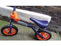 Child's balance bike age 2-4