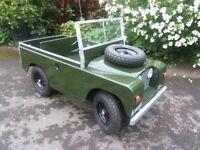 Toylander child's car