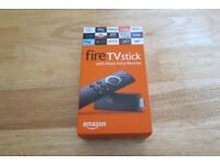 Amazon Alexa remote controlled fire stick