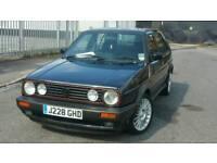 BARGAIN RARE RETRO CLASSIC CAR GOLF GTI MK2 1.8, J REG 1991 ALLOYS WITH GOOD TYRES lpg