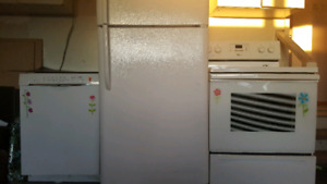 Fridge , oven and dishwasher for sale!