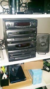 Panasonic Mini stereo system CD Cassette Receiver