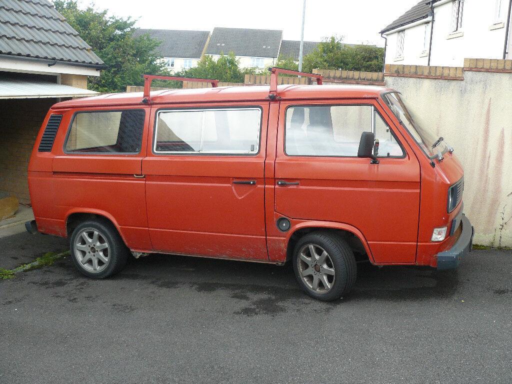 Volkswagen T25 Twin Sliding Door Van For Spares Or Repair In