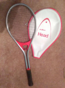 AMF Head Aluminum tennis racquet with cover