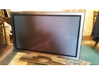 42inch Hitachi 42PD5200 Plasma TV - FREE. Not working, possible fixer upper.