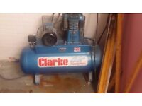 Clarke SE36C270 (WIS) Industrial Air Compressor (400V)