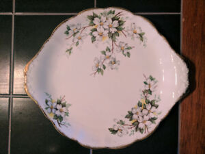 Royal Albert - White Dogwood - CakeDessert Tray