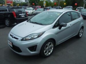 2013 FORD FIESTA TITANIUM- BLUETOOTH, LEATHER HEATED SEATS, SPEE