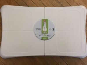 Wii Fit Board with Wii Fit Plus