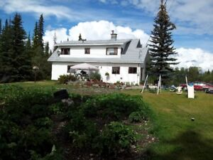 Rural home on 5 Acres 20km south of Fort St James