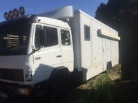 Mercedes 814 race lorry