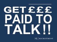 Full time Telephone based Fundraiser - £7.50 to £8.50 p/h PLUS Bonuses