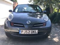 Nissan Micra SE. 2003, Low Mileage (60k). 1 previous owner. Excellent condition. Lady owner.