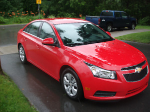 2014 Chevrolet Cruze Sedan balance 13344$ plus applicable taxes