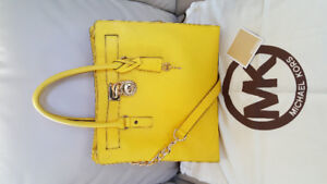 Authentic Michael Kors Large Saffiano Hamilton Tote