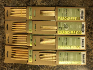 Set of 8 Brittany Wooden DP Knitting Needles